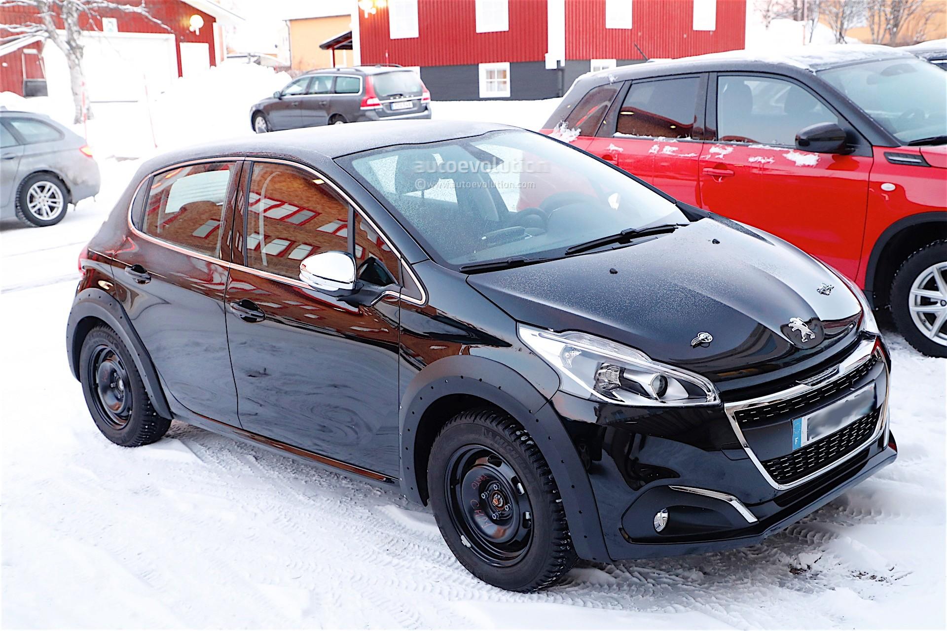 all new peugeot 208 coming in 2018 with electric. Black Bedroom Furniture Sets. Home Design Ideas