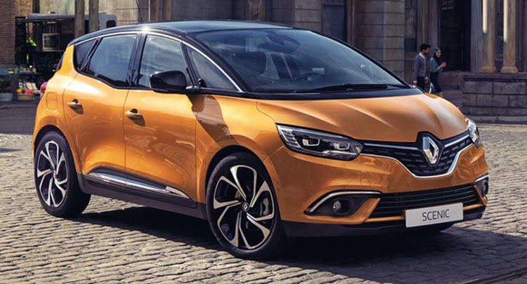 New Renault 2017 >> All New Renault Scenic First Official Photo Leaked Ahead Of Geneva