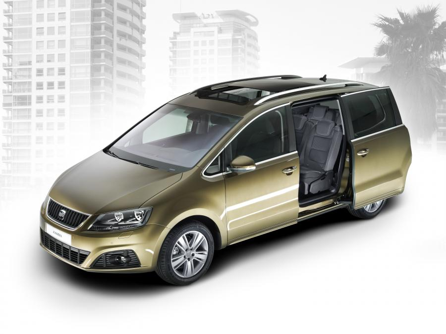 all new seat alhambra revealed autoevolution. Black Bedroom Furniture Sets. Home Design Ideas