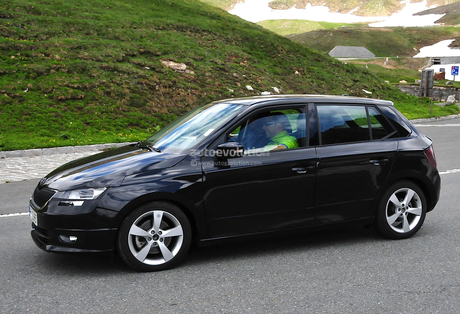 All-New Skoda Fabia Undergoing Testing in the Alps ...