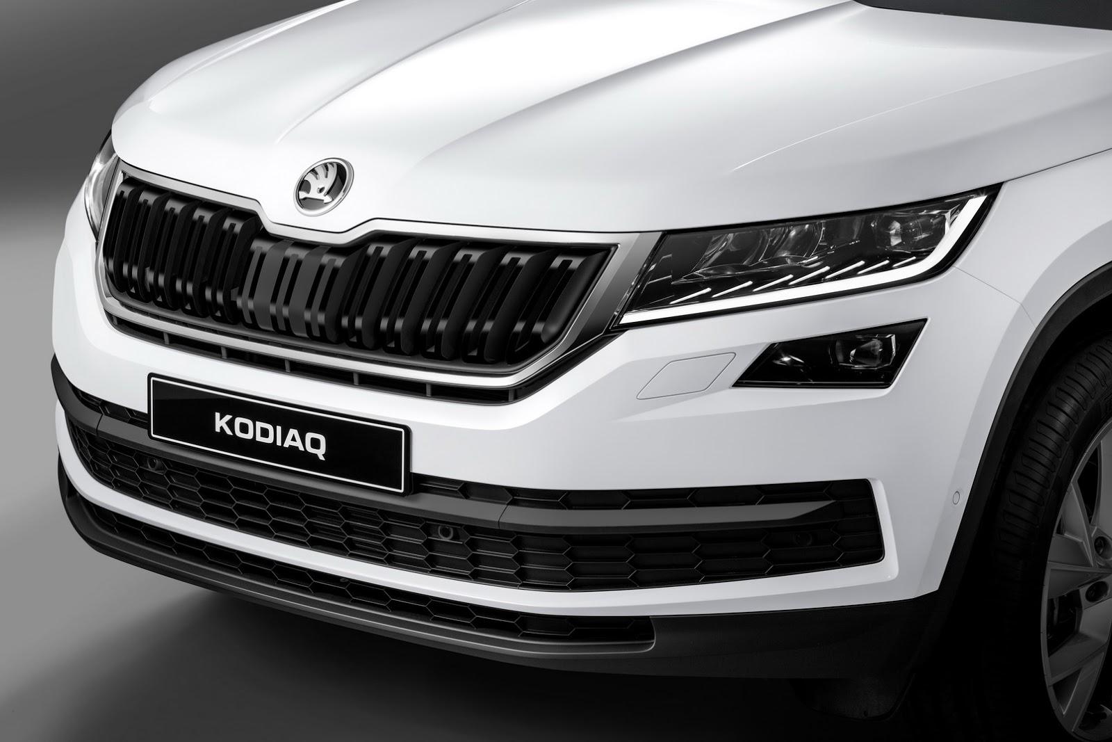 Black Kodiaq >> All-New Skoda Kodiaq 7-Seat SUV Comes With a Choice of 5 ...