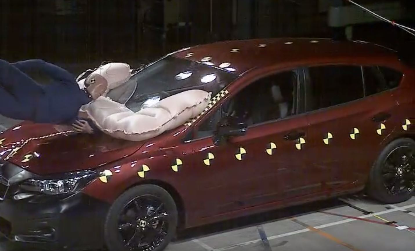 All New Subaru Impreza Has Standard Pedestrian Airbag