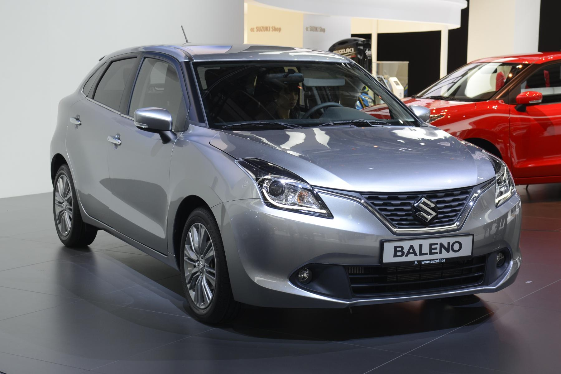 All-New Suzuki Baleno Debuts in Frankfurt with Bland ...