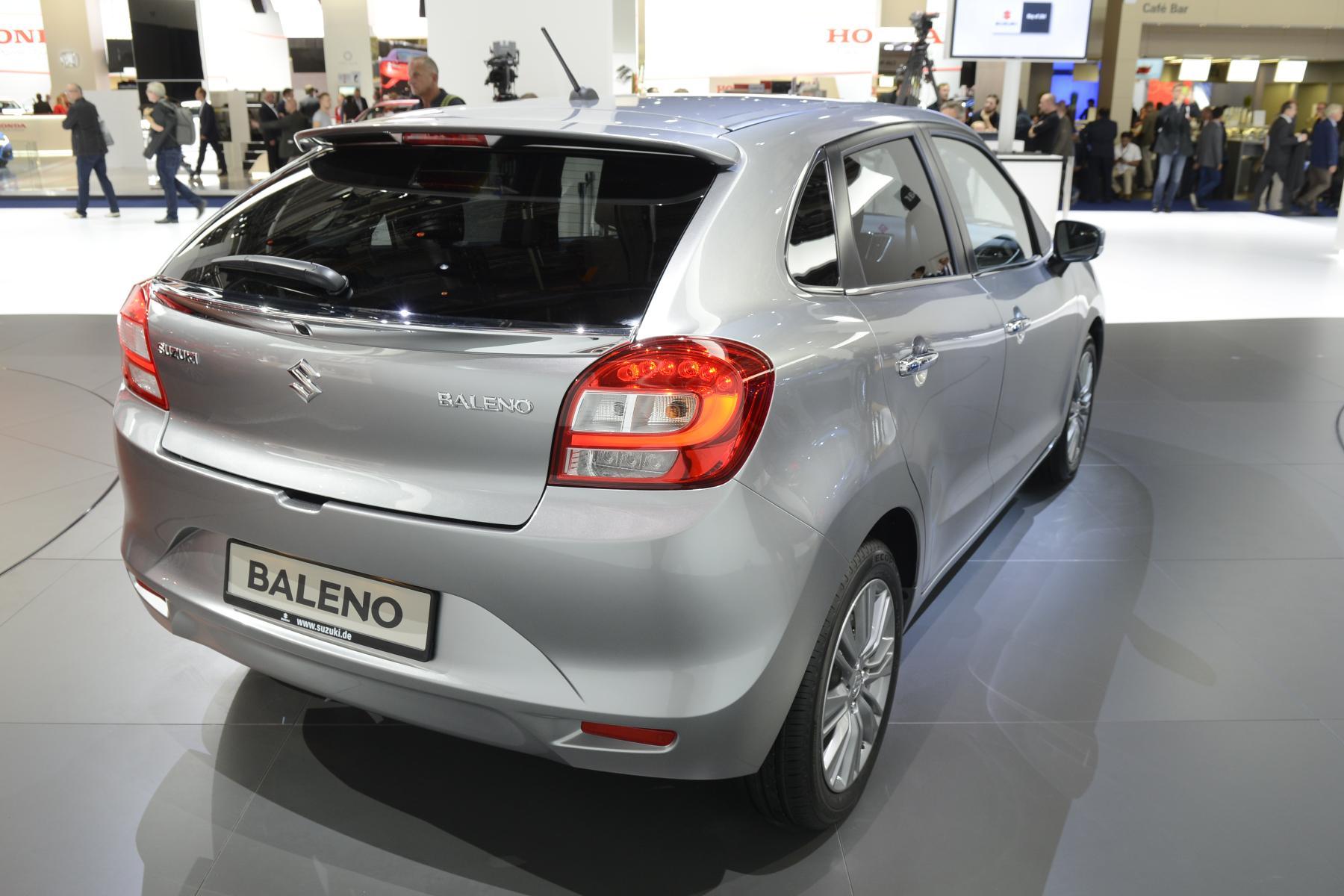 All New Suzuki Baleno Debuts In Frankfurt With Bland