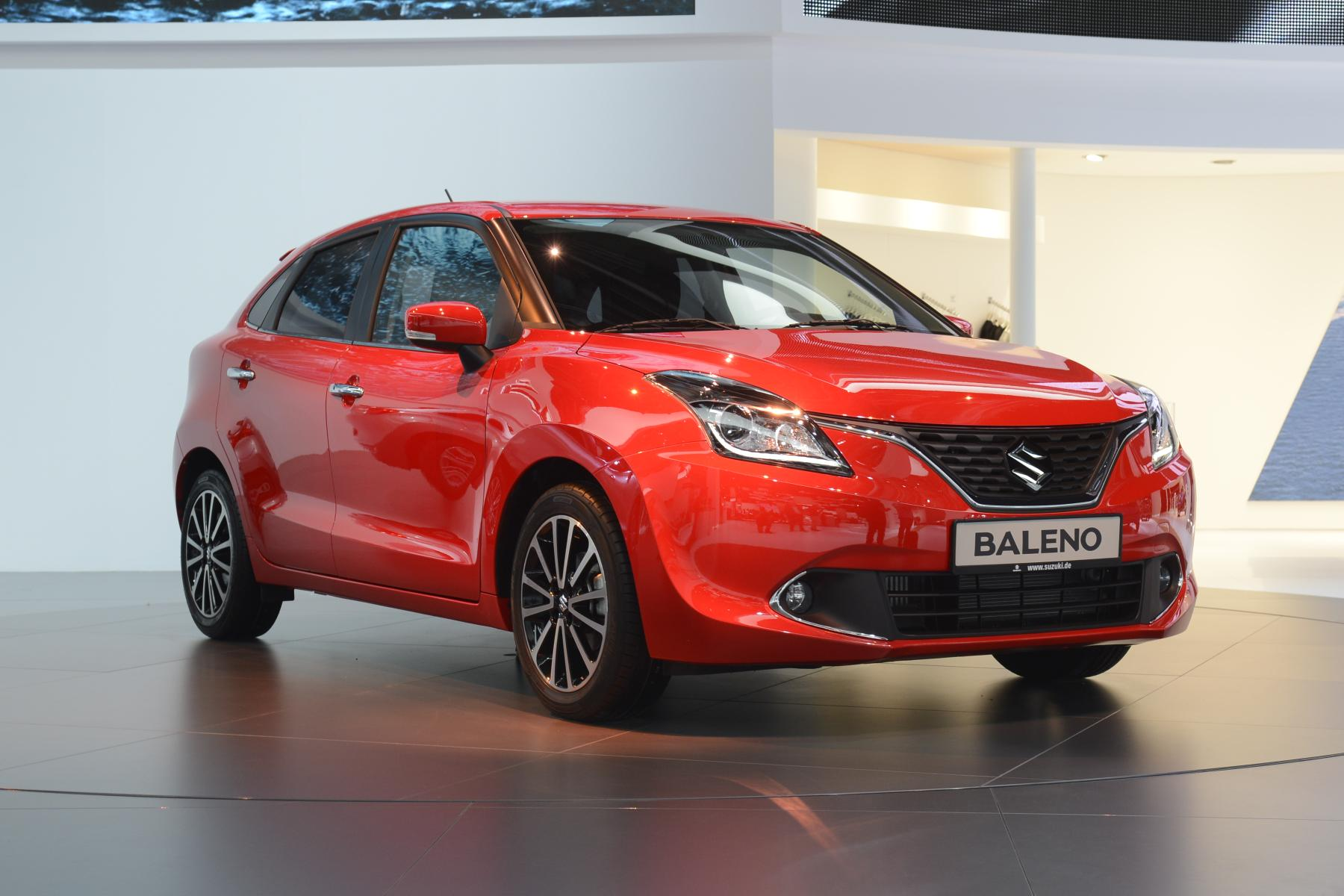 All-New Suzuki Baleno Debuts in Frankfurt with Bland Styling and Turbo Engine - autoevolution