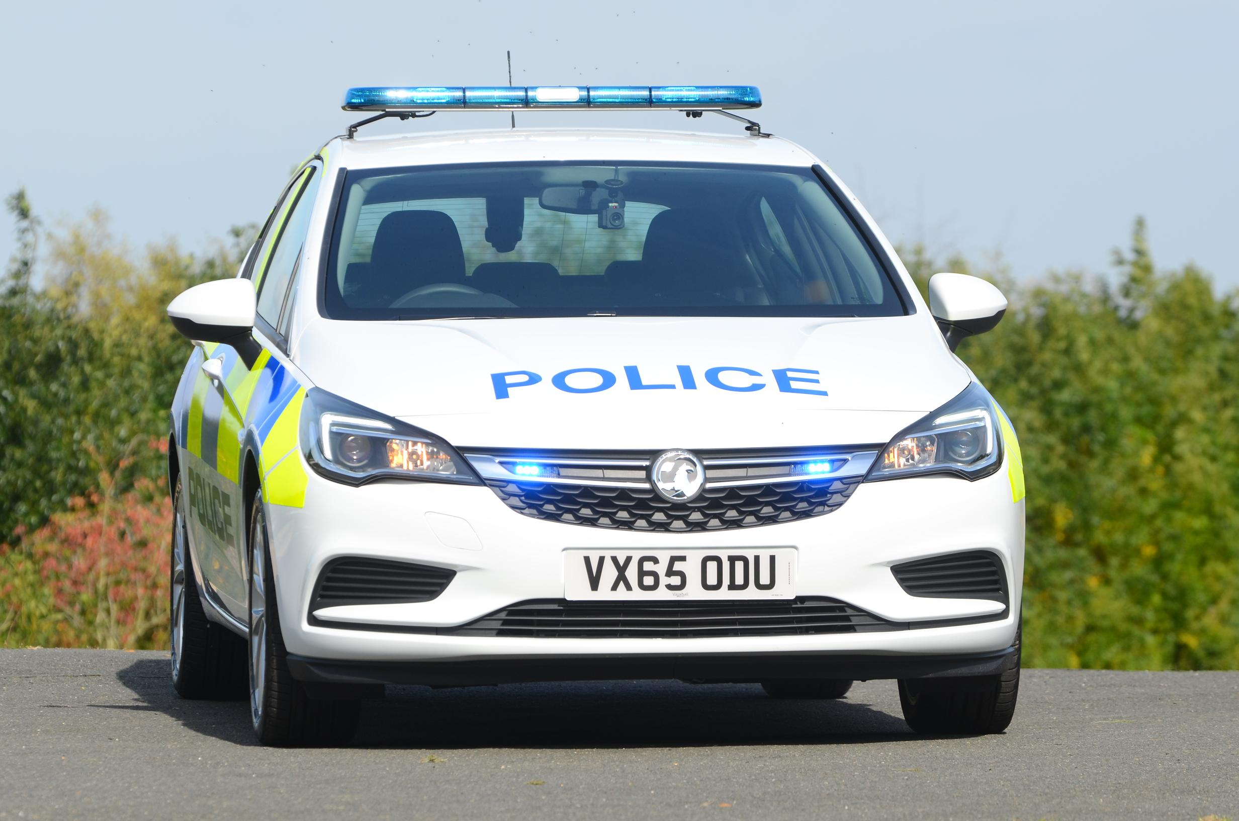 All New Vauxhall Quot Arresting Quot Astra K Enters Police Service