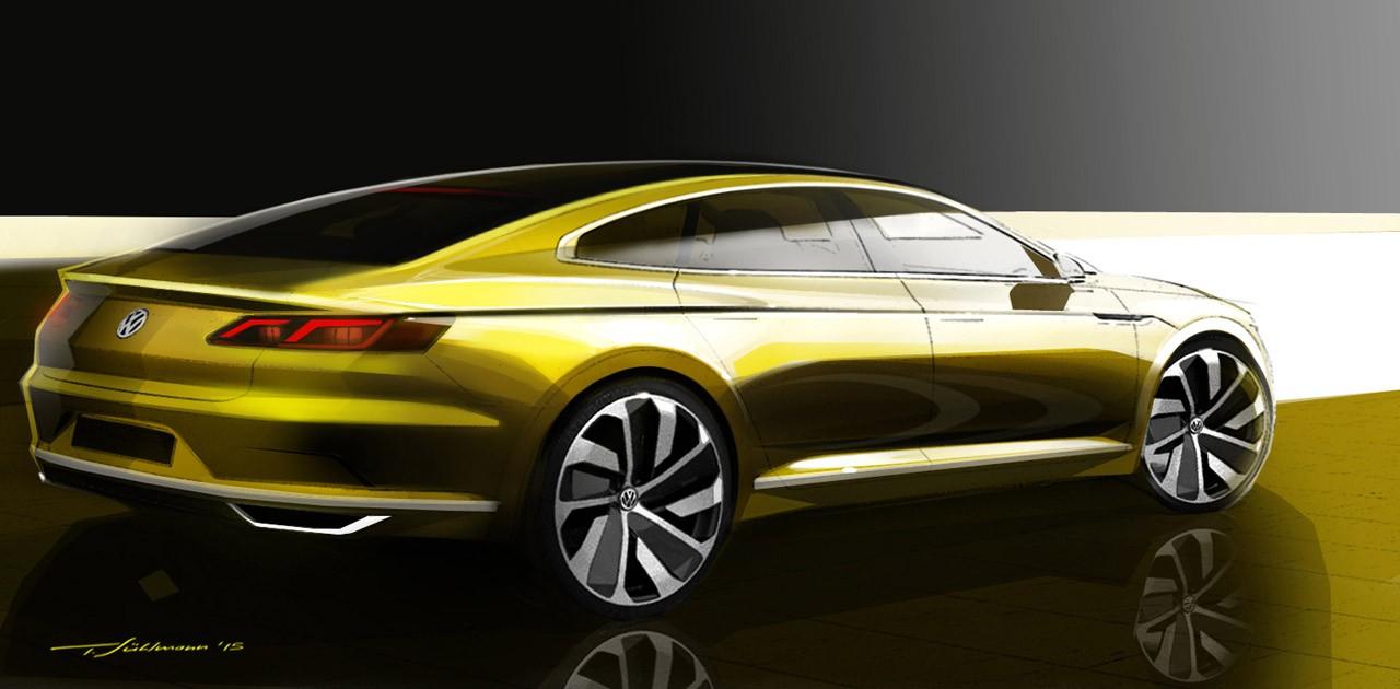 allnew volkswagen cc concept previews cls rivaling four