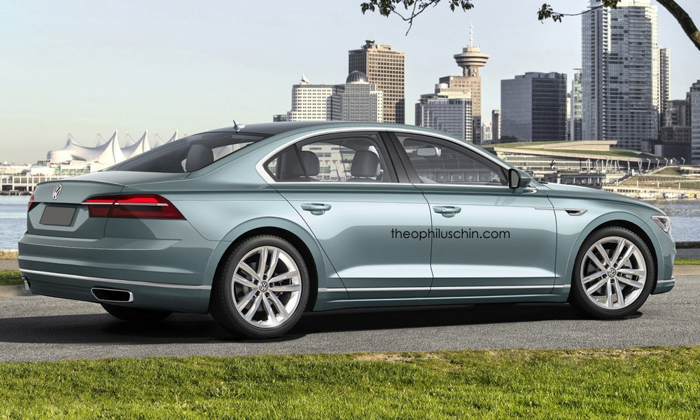 Vw Of America >> 2018 Volkswagen Phaeton Said to Use MLB Evo, Offer V8 TDI and V6 Hybrid Engines - autoevolution