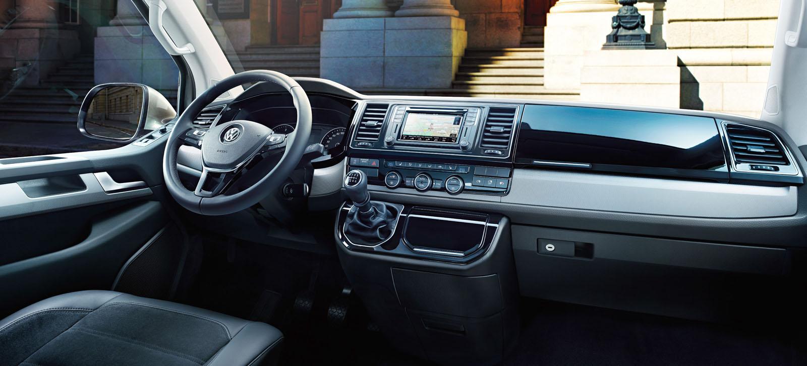all new volkswagen transporter t6 unveiled premium. Black Bedroom Furniture Sets. Home Design Ideas