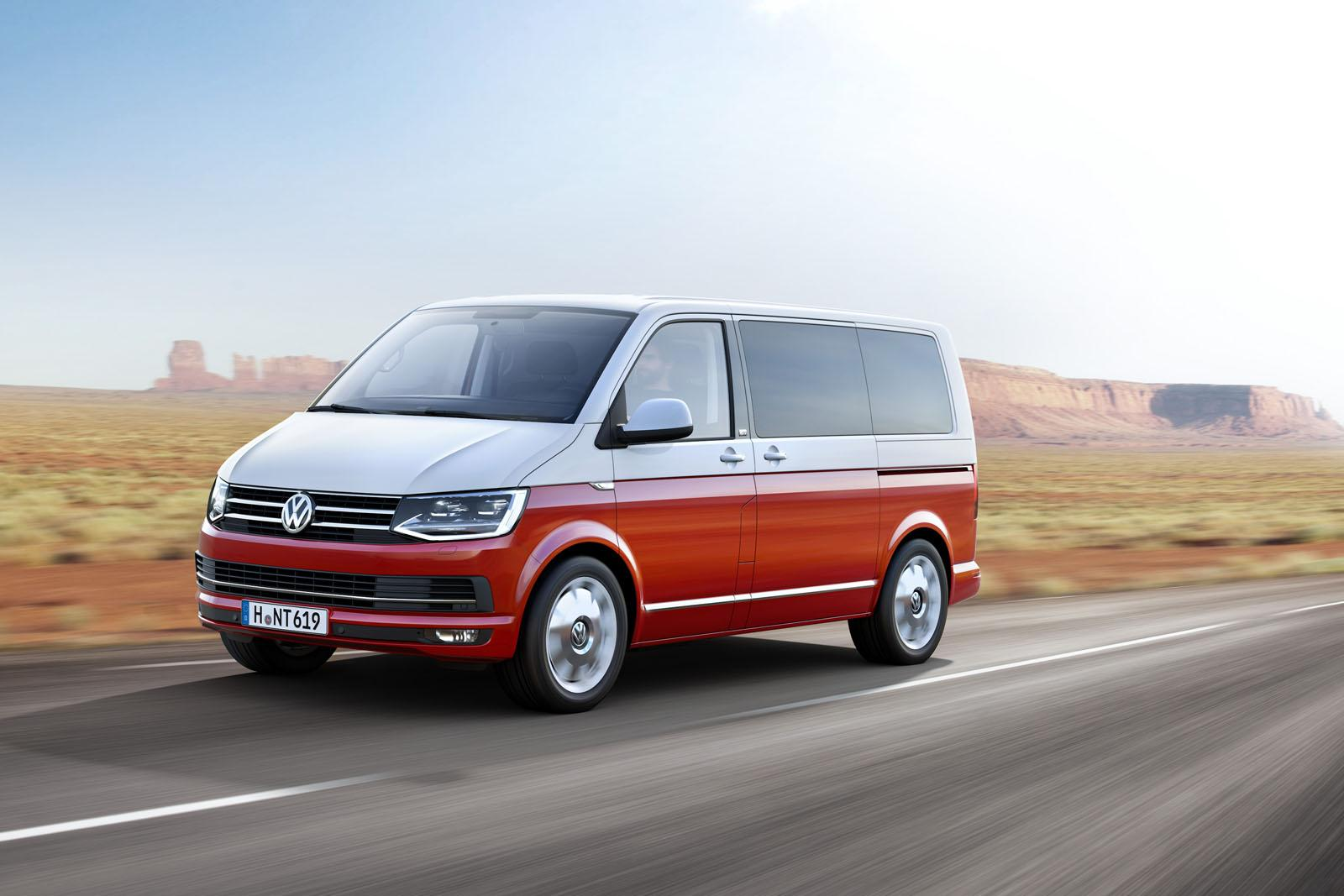 All New Volkswagen Transporter T6 Unveiled Premium