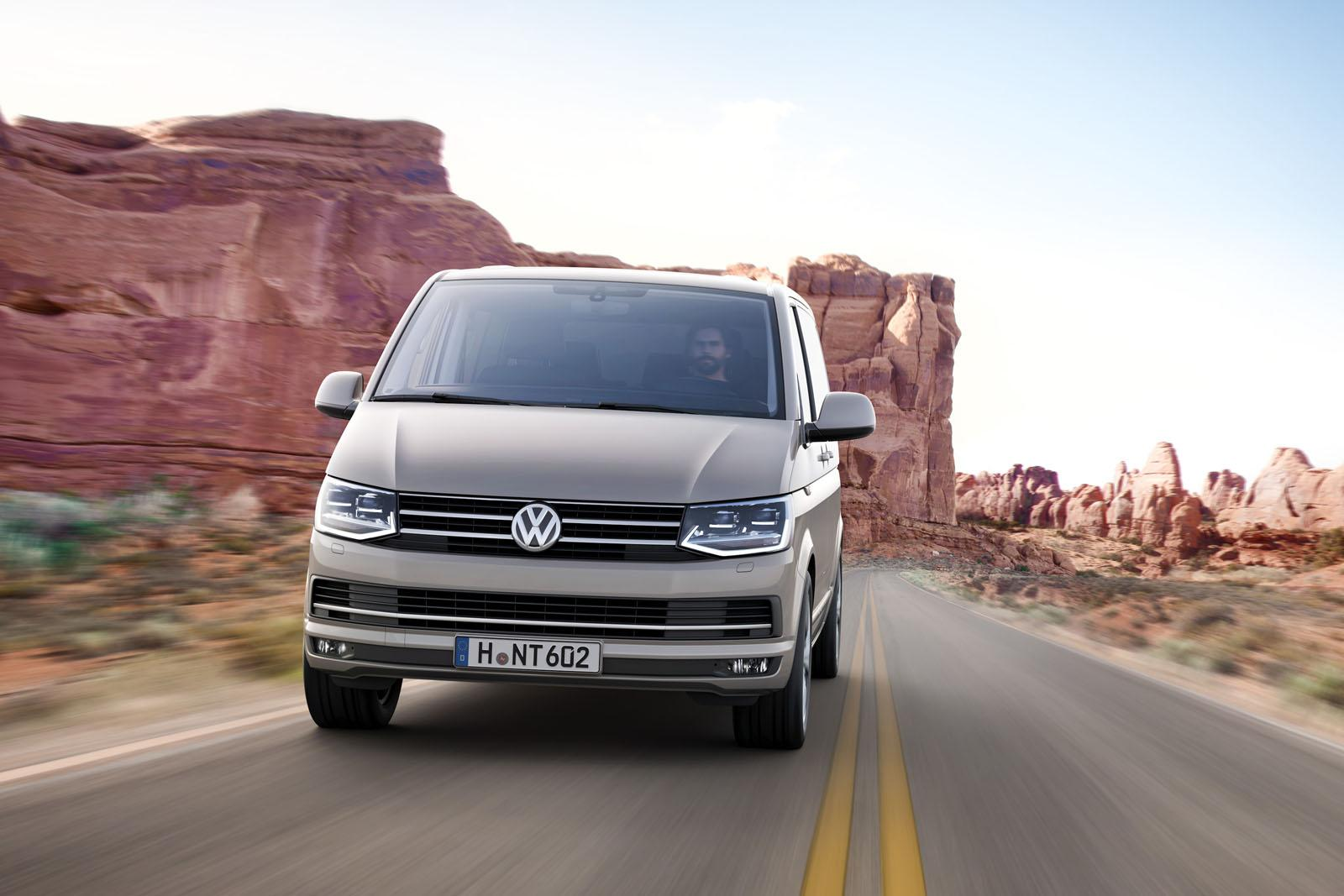 all new volkswagen transporter t6 unveiled premium multivan bulli theme autoevolution. Black Bedroom Furniture Sets. Home Design Ideas