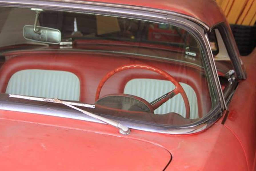All-Original 1955 Ford Thunderbird Selling On Craigslist - autoevolution