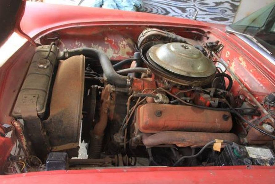 All Original 1955 Ford Thunderbird Selling On Craigslist