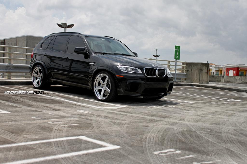 All Purpose Bmw X5 M Rides On Adv 1 Wheels Autoevolution