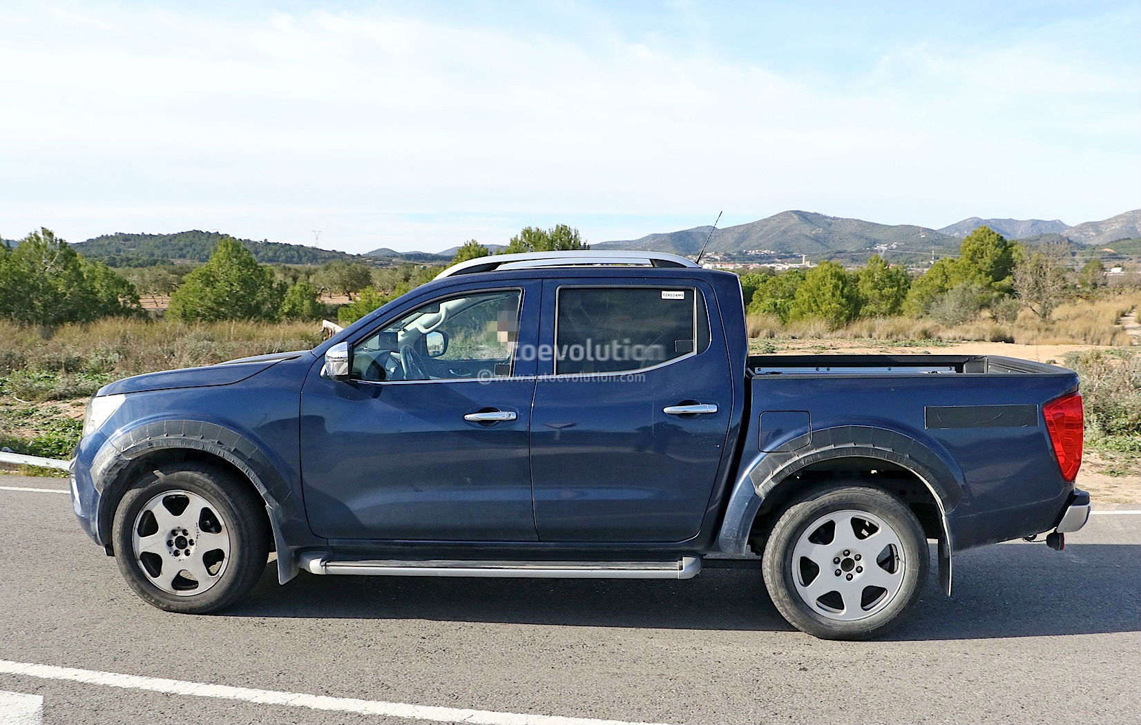 Alleged Mercedes Benz Pickup Mule Spotted For The First