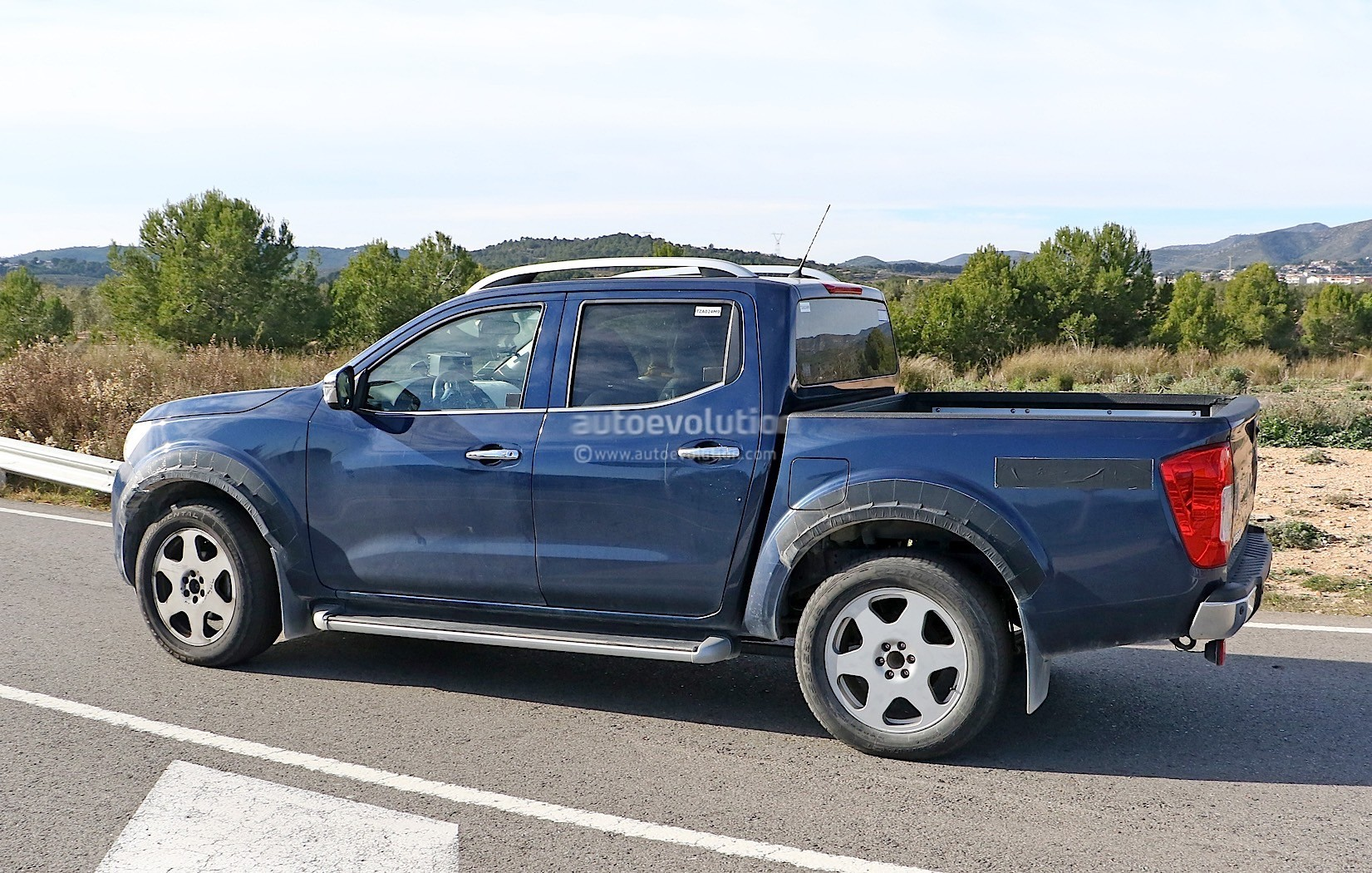 Alleged Mercedes-Benz Pickup Mule Spotted for the First ...