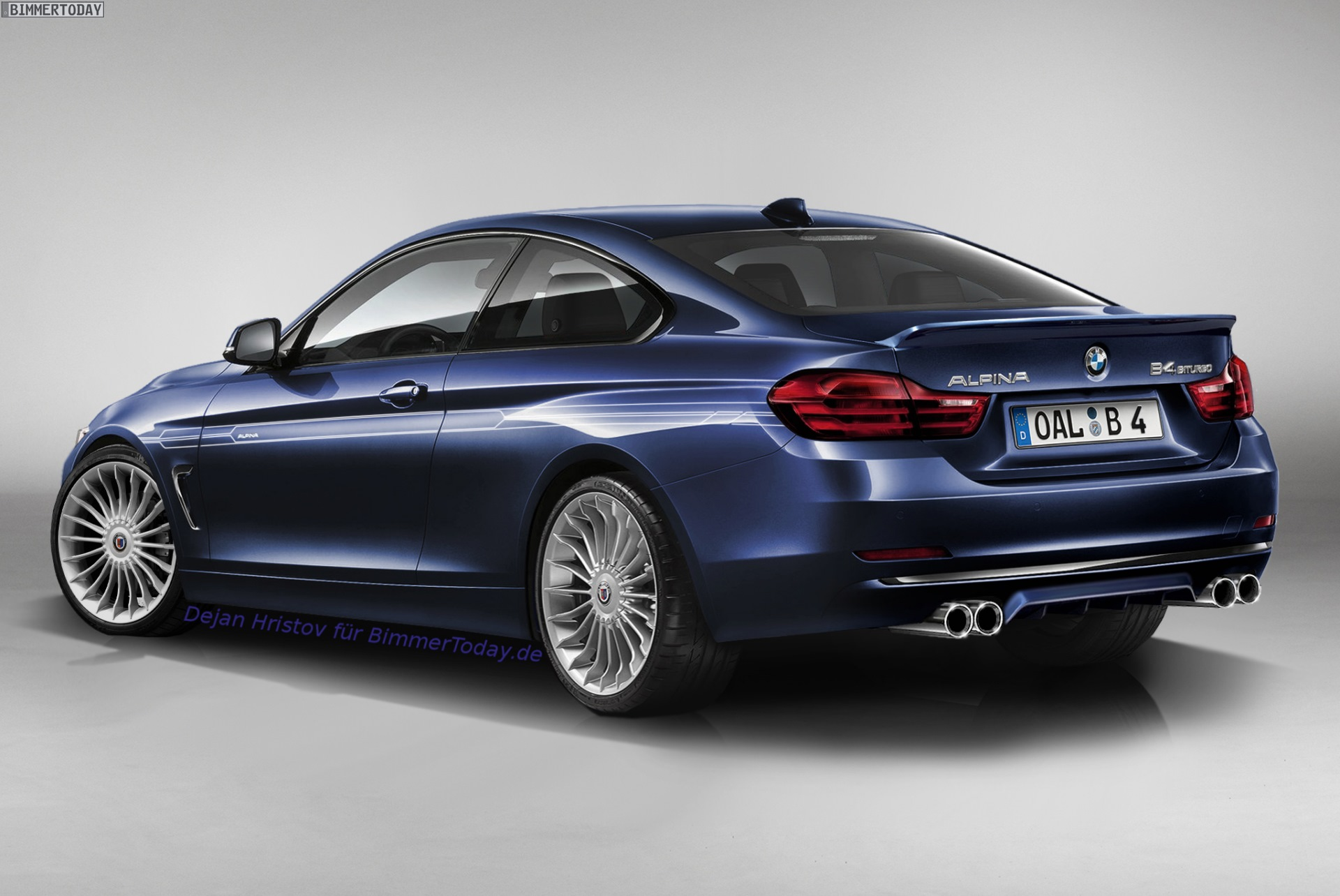 alpina b4 rendered could this be alpina 39 s take on the 4. Black Bedroom Furniture Sets. Home Design Ideas