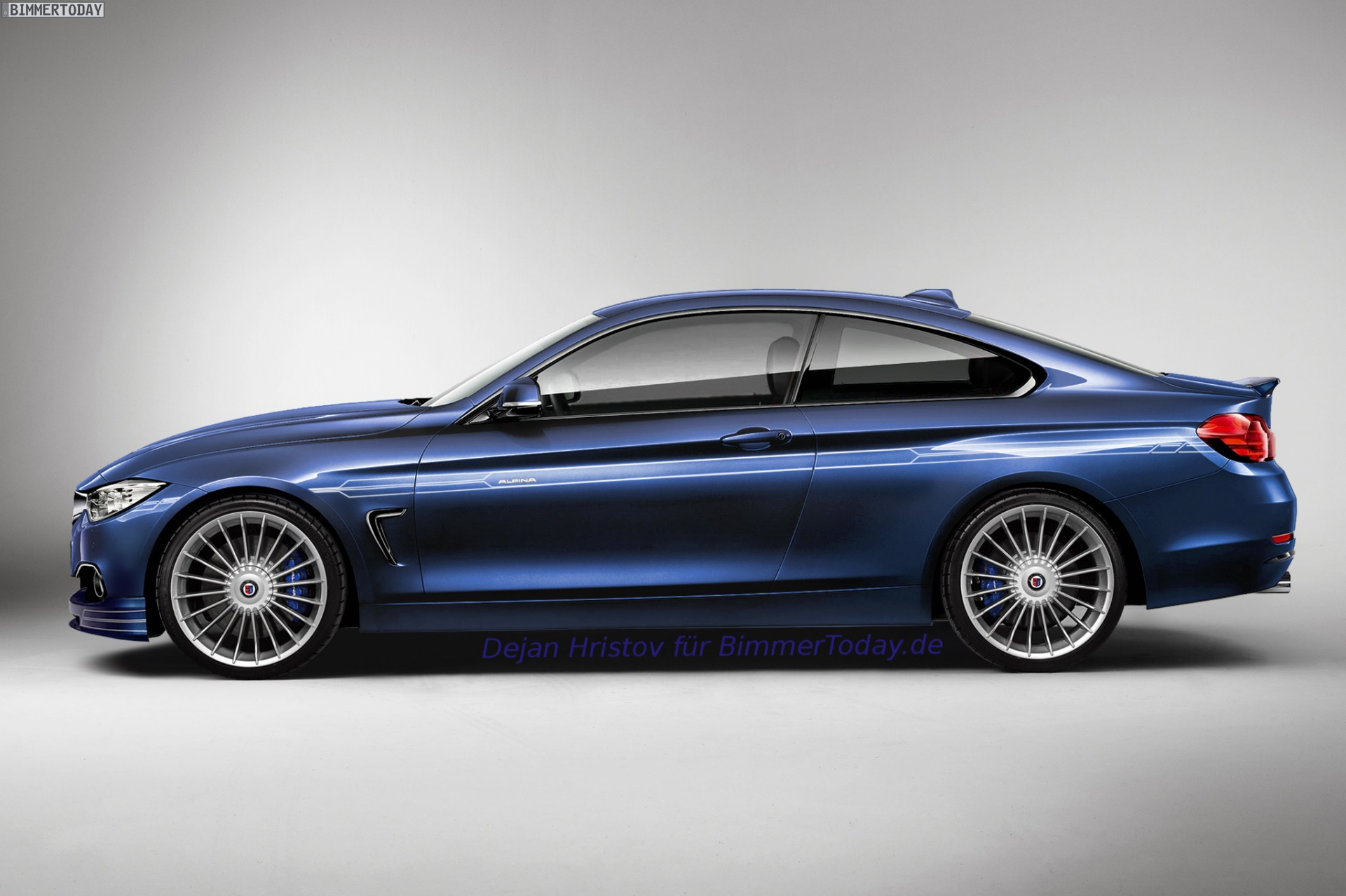Alpina B4 Rendered Could This Be Alpina S Take On The 4
