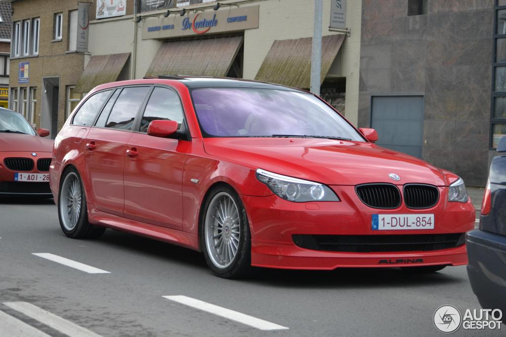 Alpina B5 Touring Spotted In Belgium Autoevolution