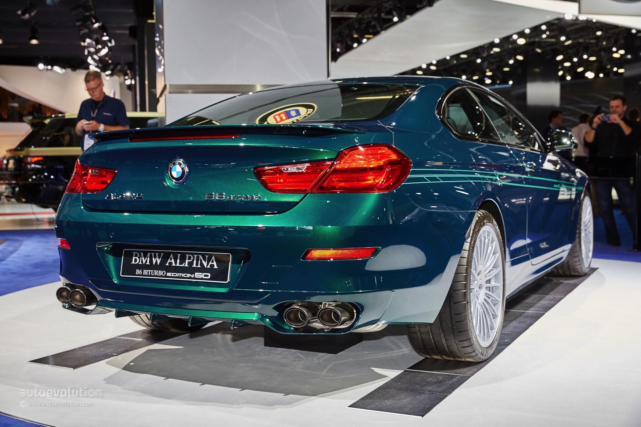 Alpina B6 Biturbo 50 Edition Visits Frankfurt After Geneva Debut ...