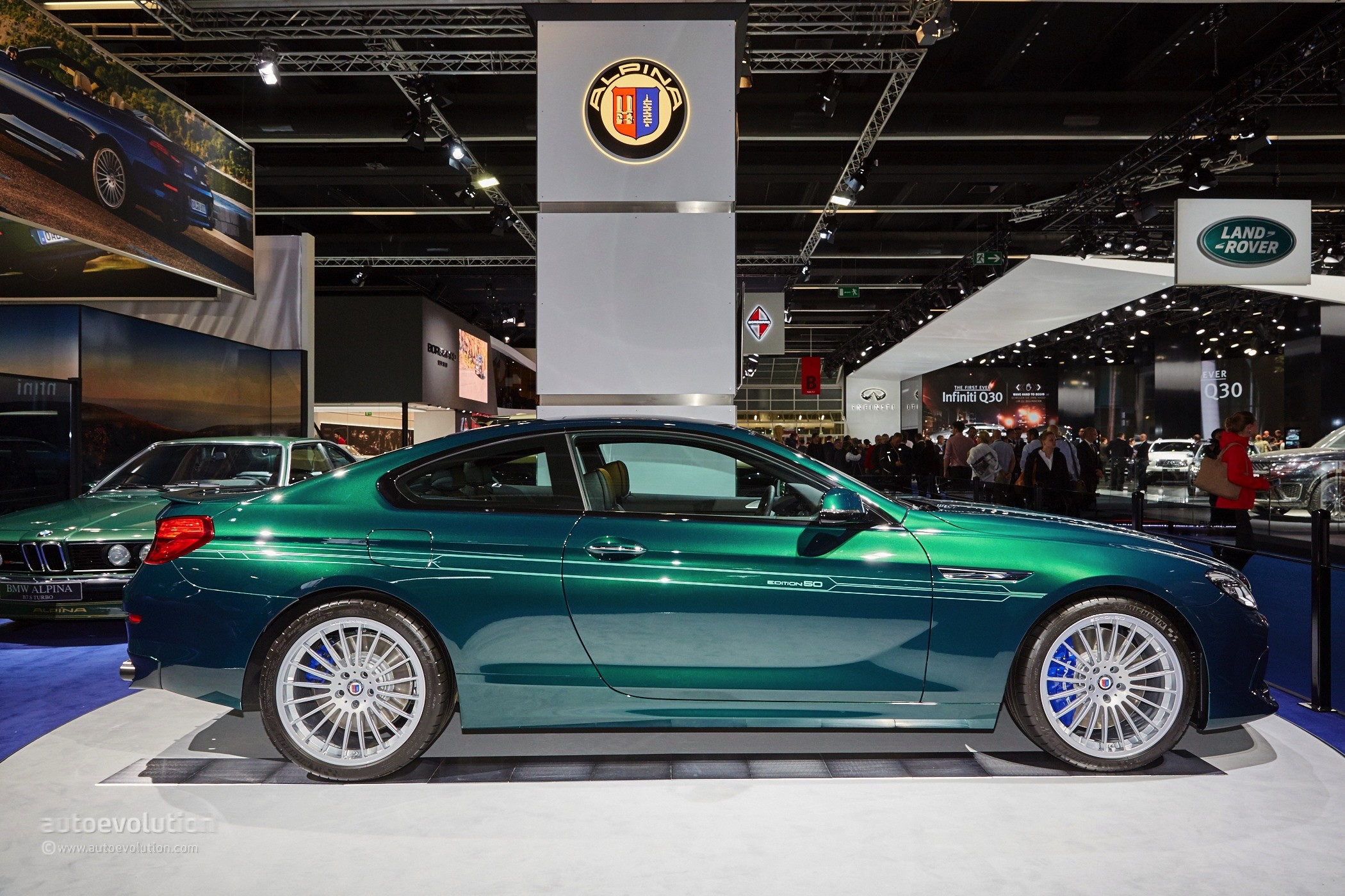 BMW Alpina B6 >> Alpina B6 Biturbo 50 Edition Visits Frankfurt After Geneva ...