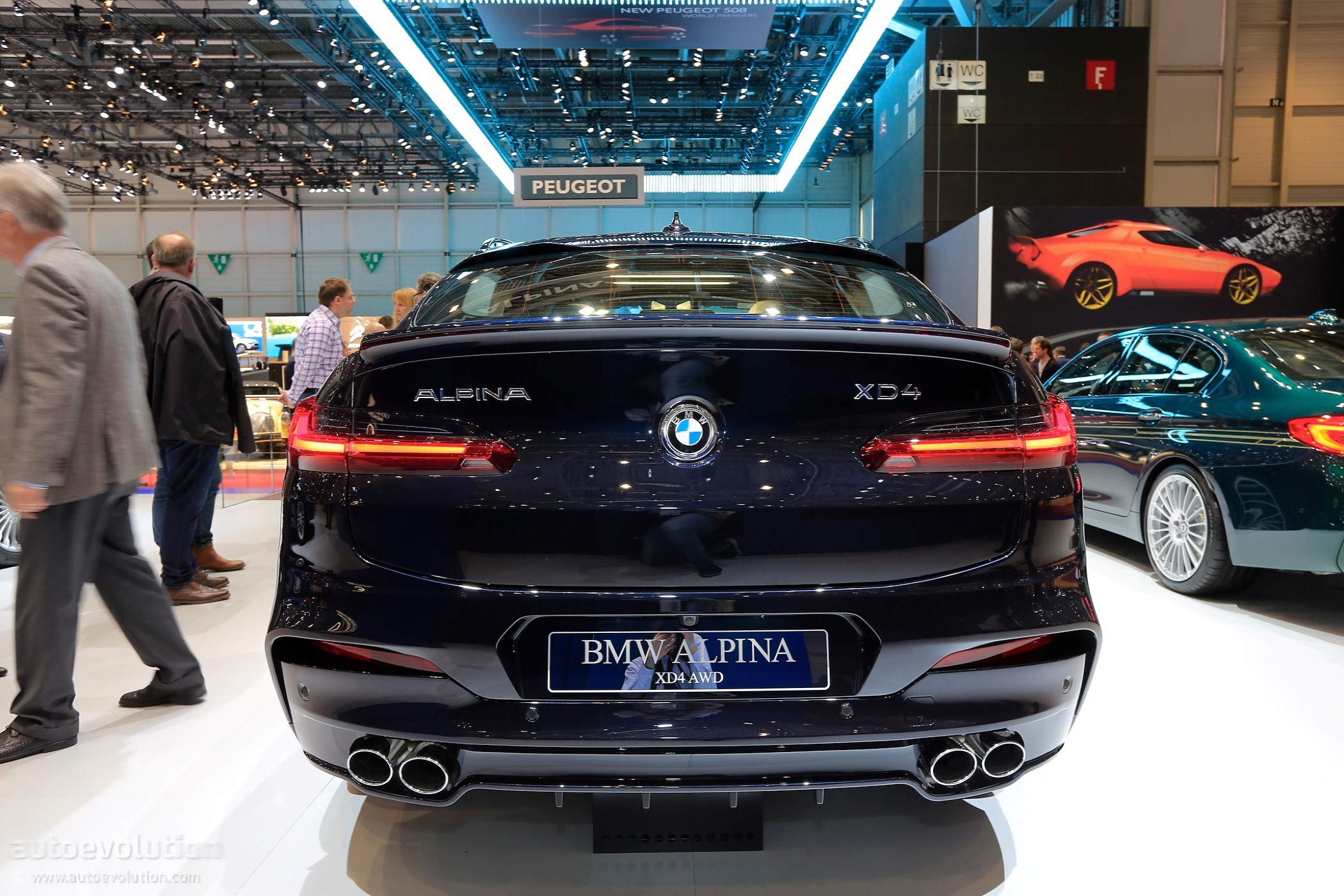 Alpina Brings Xd3 And Xd4 In Geneva Both Are Quad Turbocharged Autoevolution