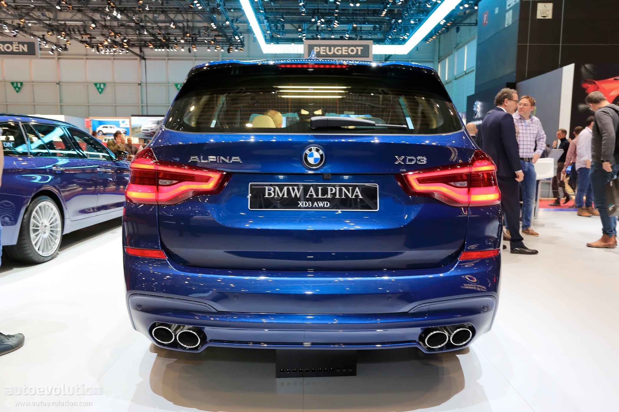 BMW Alpina B Biturbo Allrad To Debut At The NYIAS Autoevolution - X5 alpina