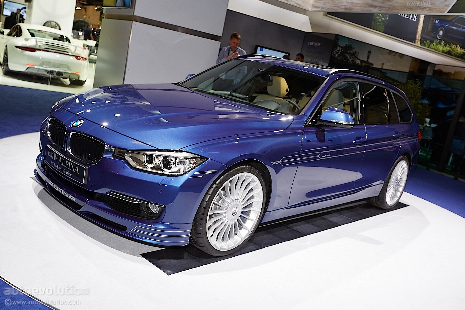 alpina d3 bi turbo makes world debut at 2013 frankfurt live photos autoevolution. Black Bedroom Furniture Sets. Home Design Ideas
