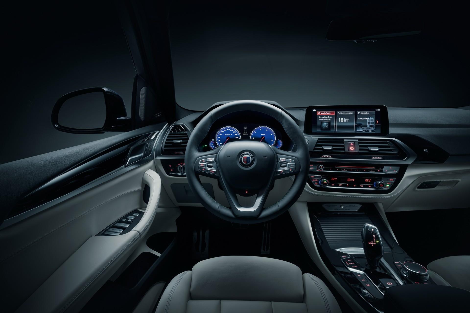 Alpina Xd3 Is A Quad Turbocharged 2018 Bmw X3 Xdrive30d Autoevolution