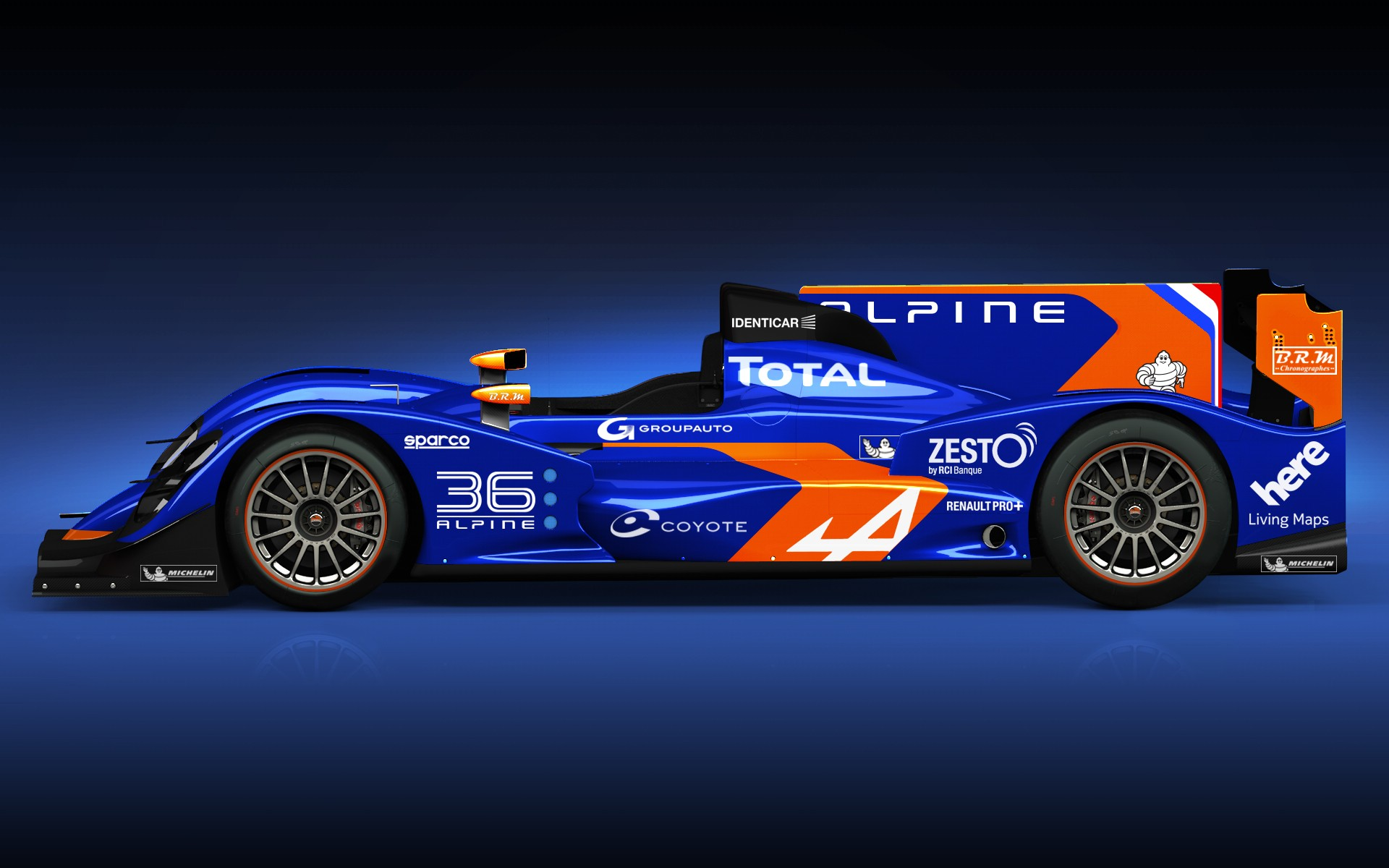 alpine reveals nissan powered le mans prototype autoevolution. Black Bedroom Furniture Sets. Home Design Ideas