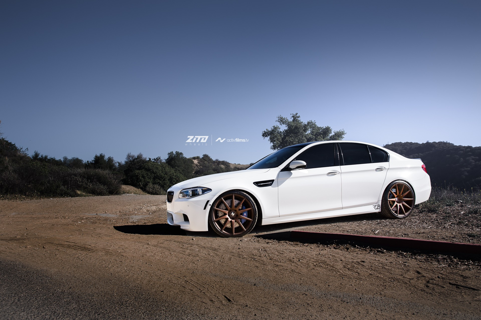 tuningcars alpine white bmw f10 m5 on zito wheels is gorgeous. Black Bedroom Furniture Sets. Home Design Ideas