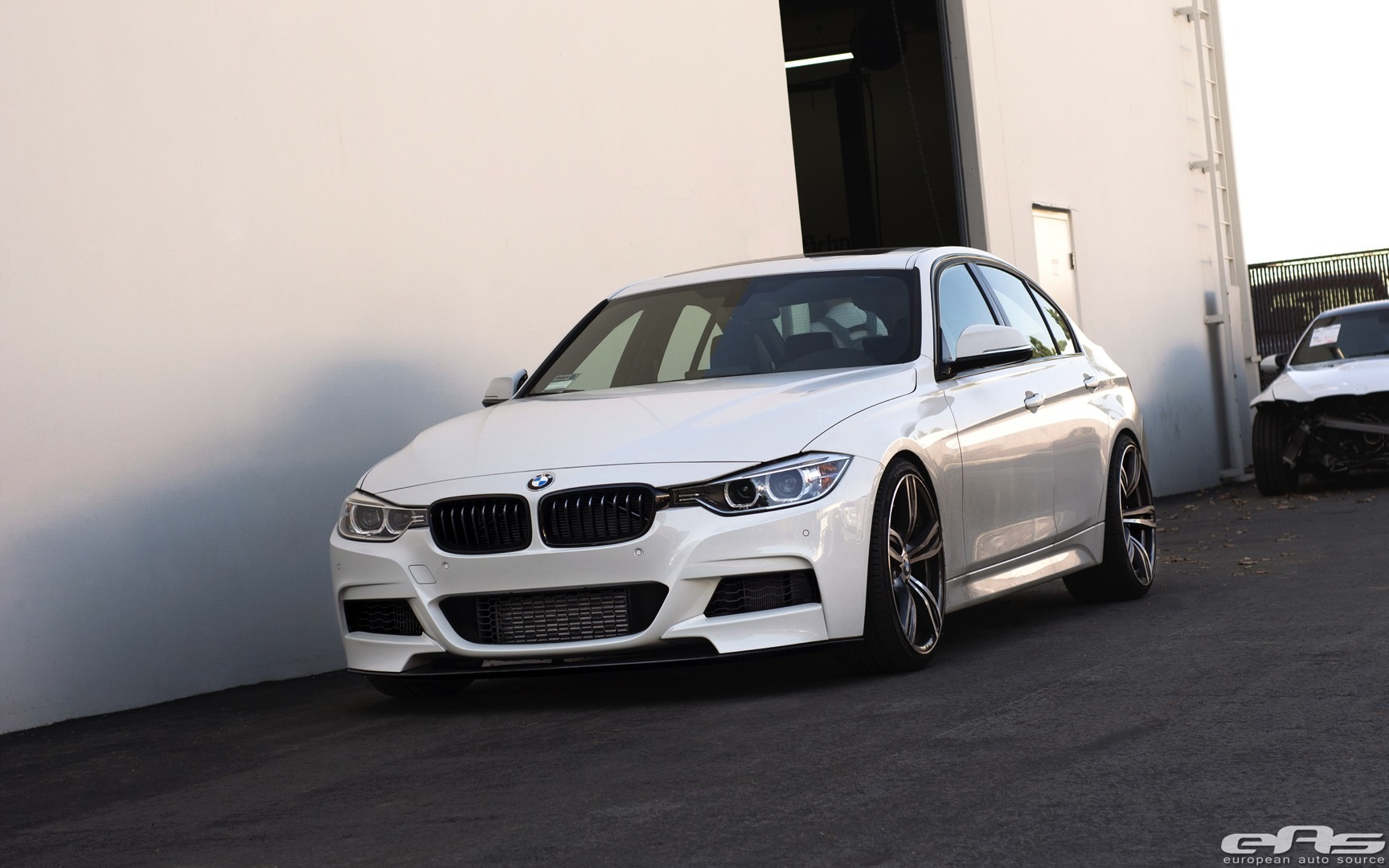 Alpine White Bmw F30 335i Is Subtle Autoevolution