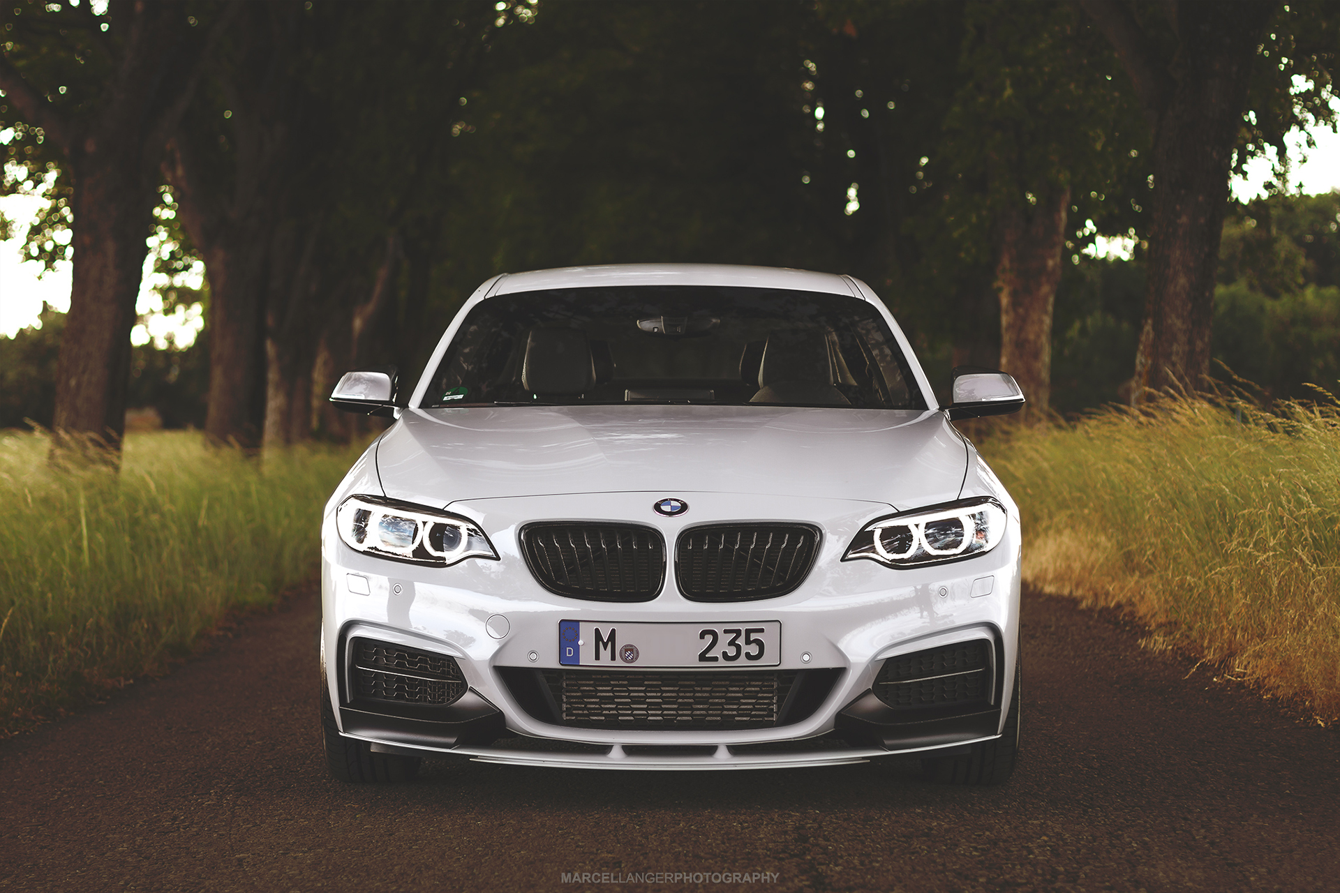 Alpine White M Performance Bmw M235i Looks Stunning