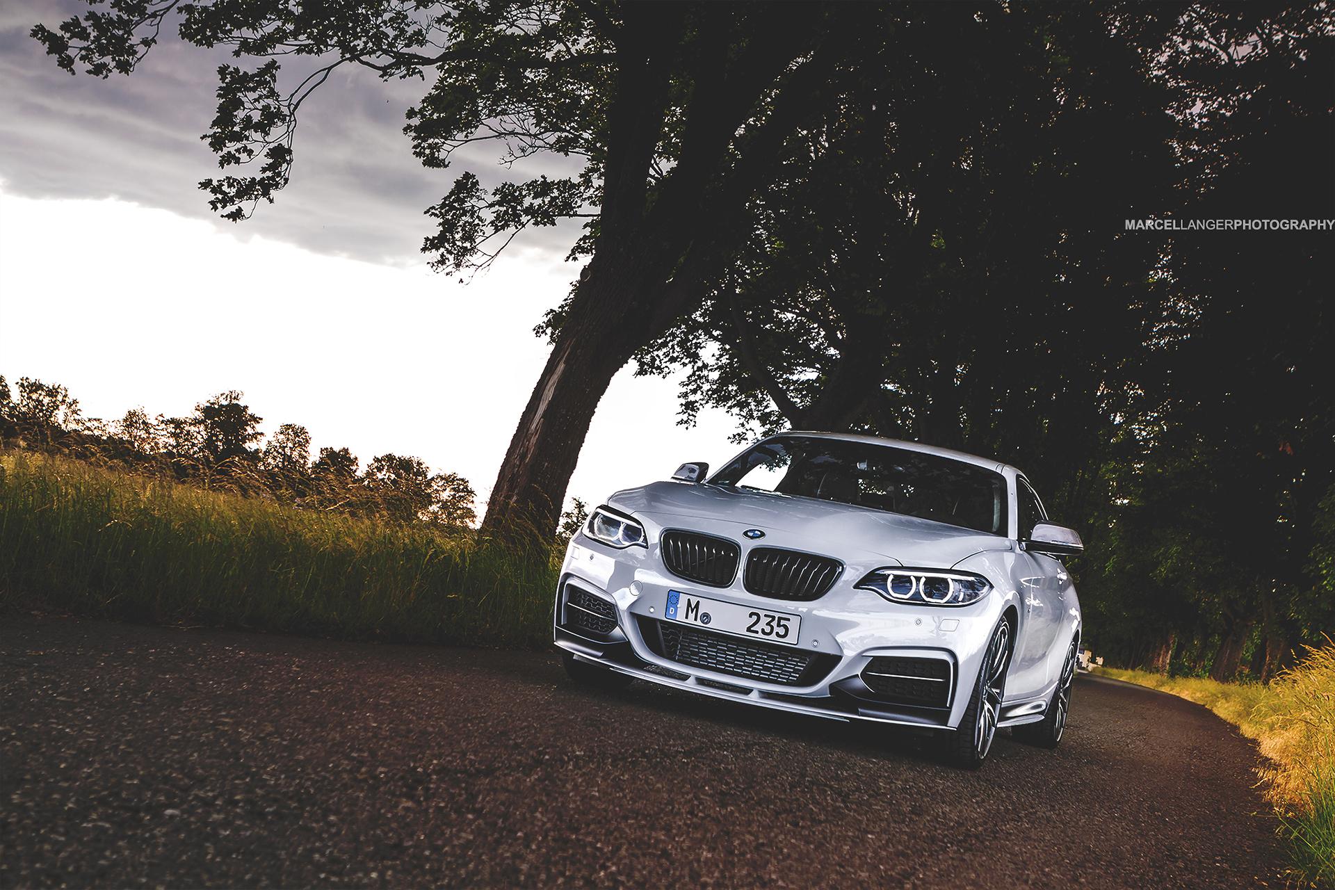 Alpine White M Performance Bmw M235i Looks Stunning