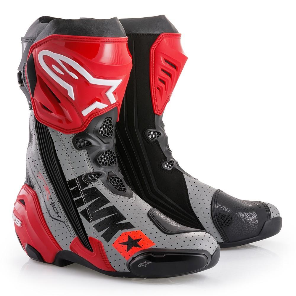 Alpinestars Puts Out Limited Edition MACH 1 Supertech R Boots - autoevolution