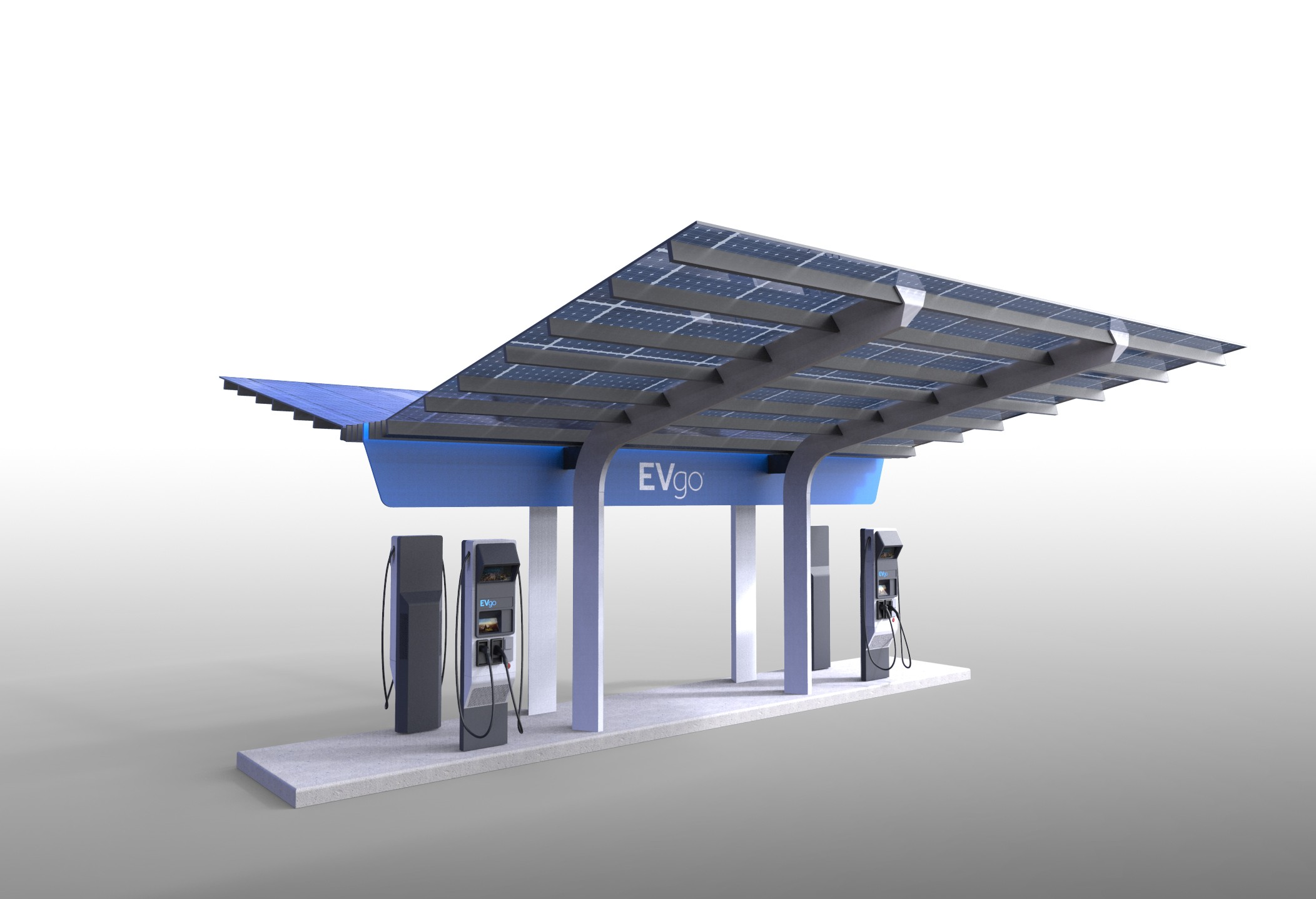 america u0026 39 s first high-power ev charging station has begun its construction phase