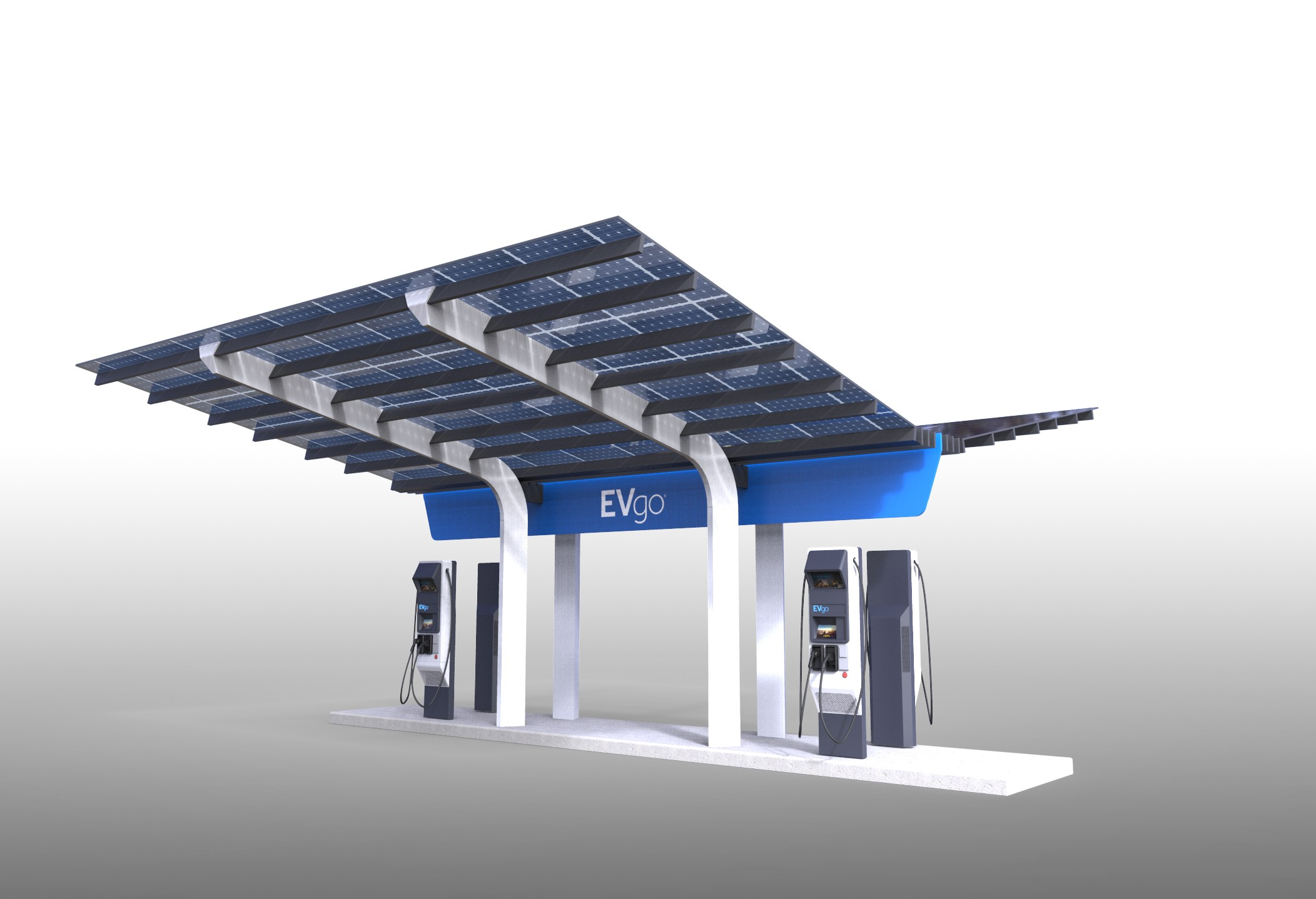 Ev Charging Stations >> America's First High-Power EV Charging Station Has Begun Its Construction Phase - autoevolution