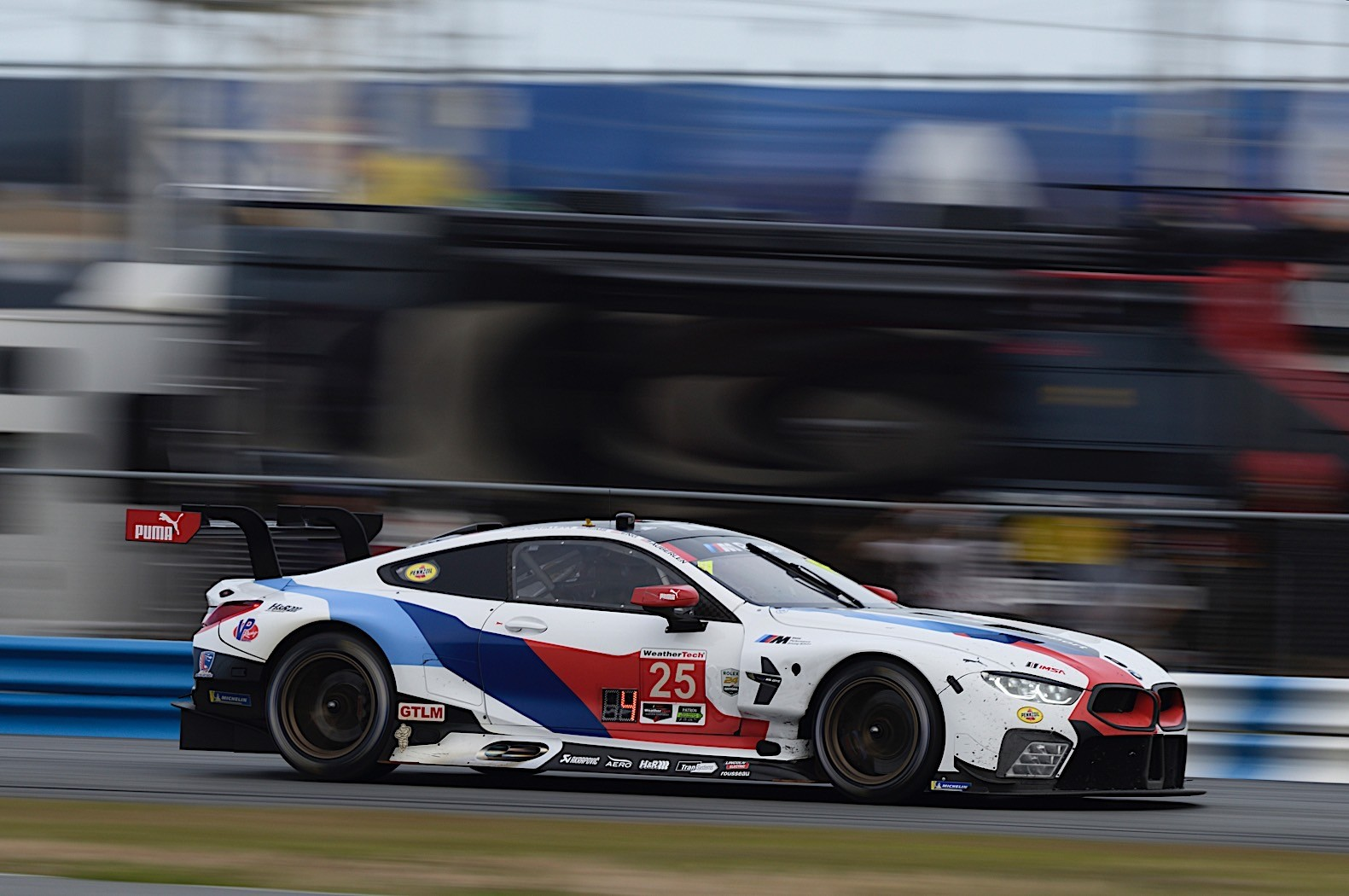 Bmw M Gte Racing At Daytona