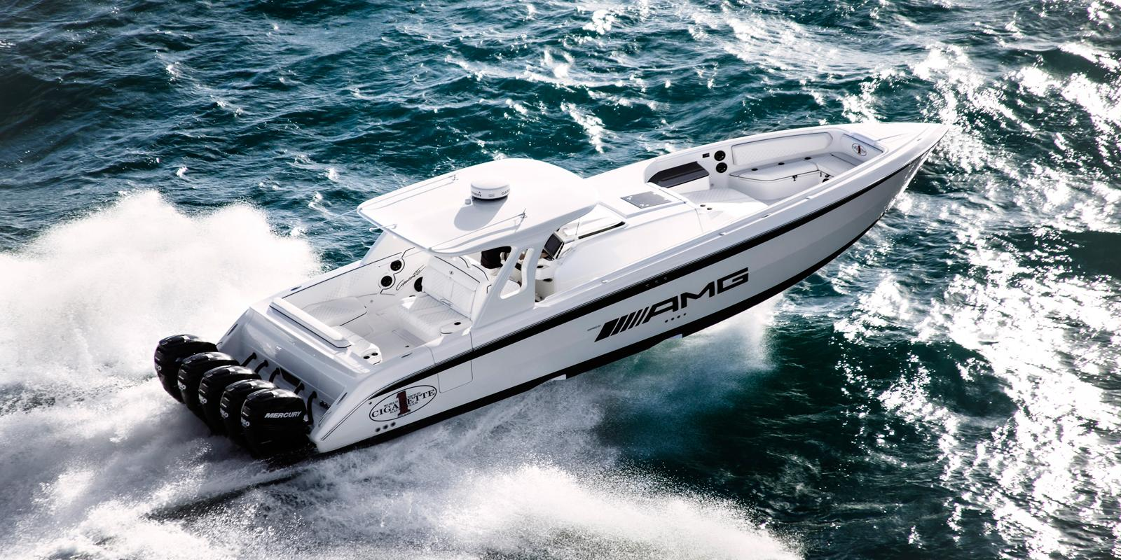 Amg 42 Huntress Cigarette Boat Inspired By G63 Amg