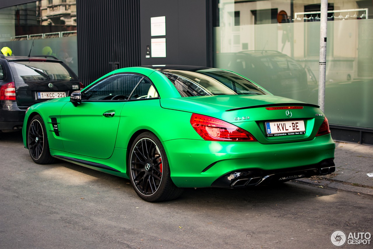 Amg Green Hell Magno Mercedes Amg Sl63 Is A Devil 39 S