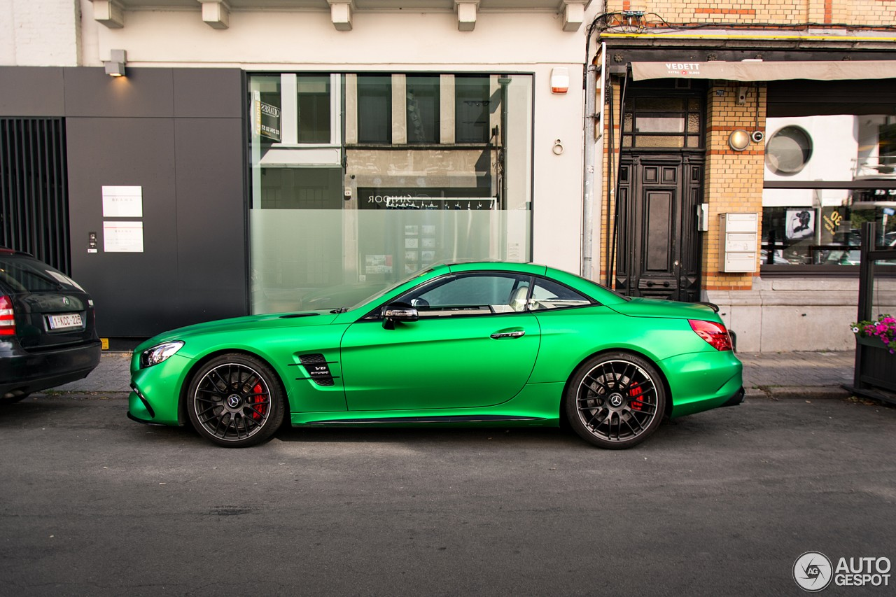 Amg Green Hell Magno Mercedes Amg Sl63 Is A Devil S