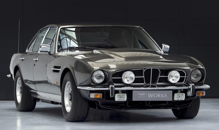 An Aston Martin Lagonda Unlike Any Other Turned Up For ...