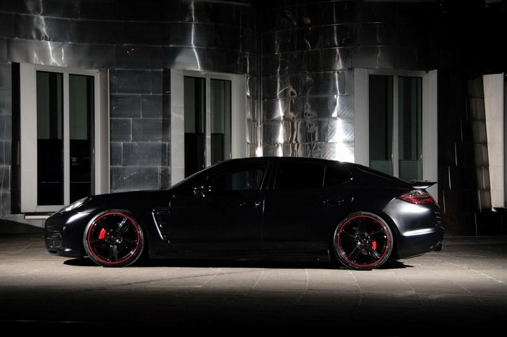 Anderson Germany Porsche Panamera Is Back in Black - autoevolution