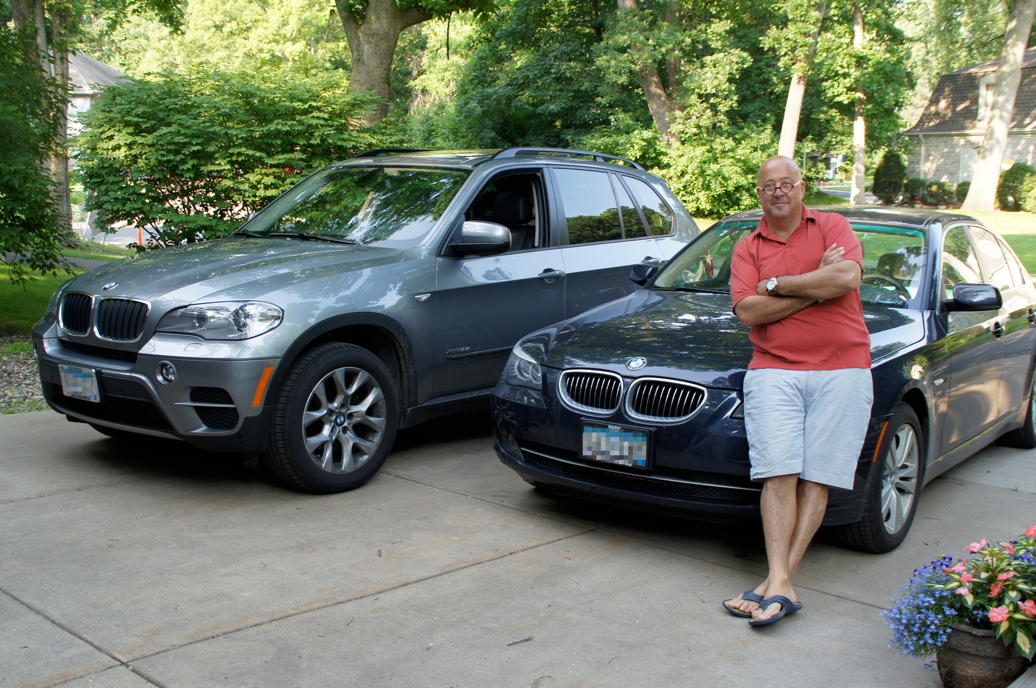 Andrew zimmern prefers bmw over jeep autoevolution Celebrity motors