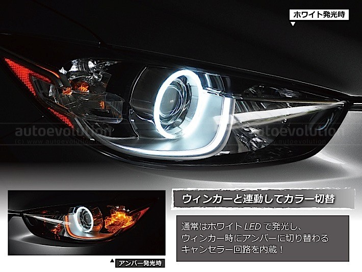 Angel Eyes Headlights For Mazda Cx 5 Look Aggressive
