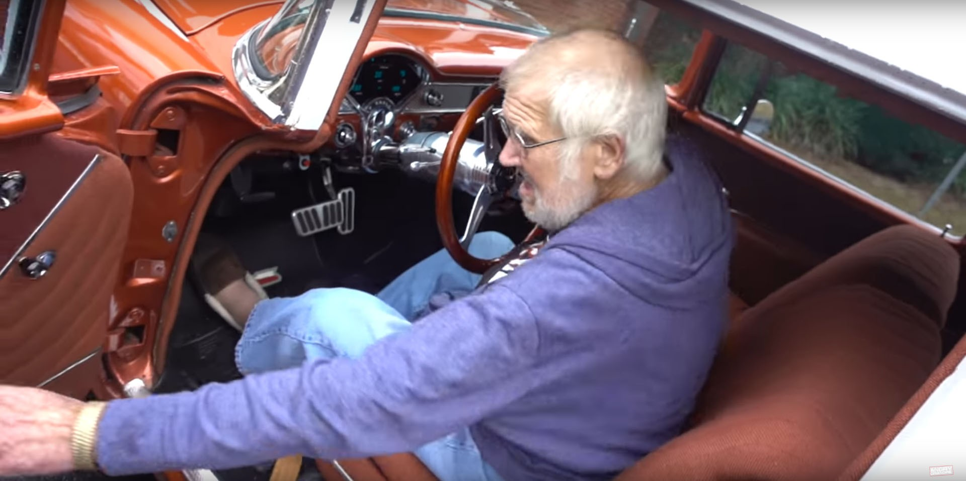 Angry Grandpa Gets The Car He Had When He Was 16 Yo In