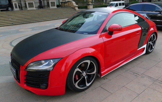 Another Audi Tt Tries To Be R8 And Fails Autoevolution