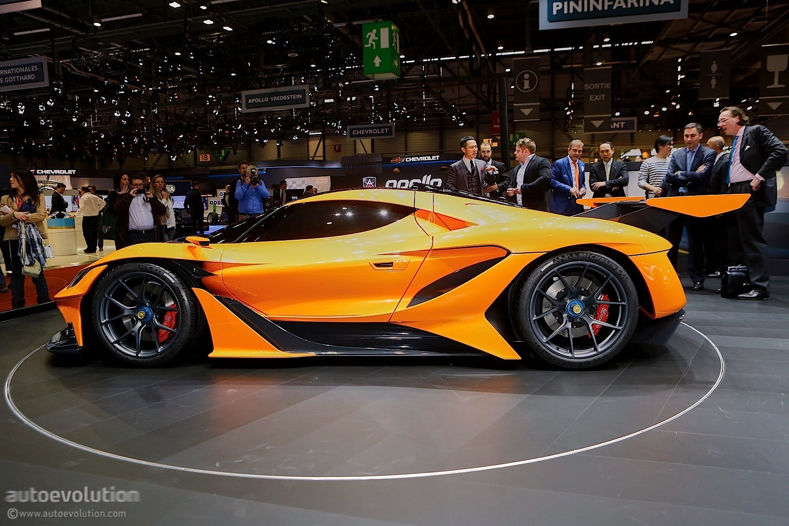 Apollo Arrow Doesn T Seem Complete In Geneva Autoevolution