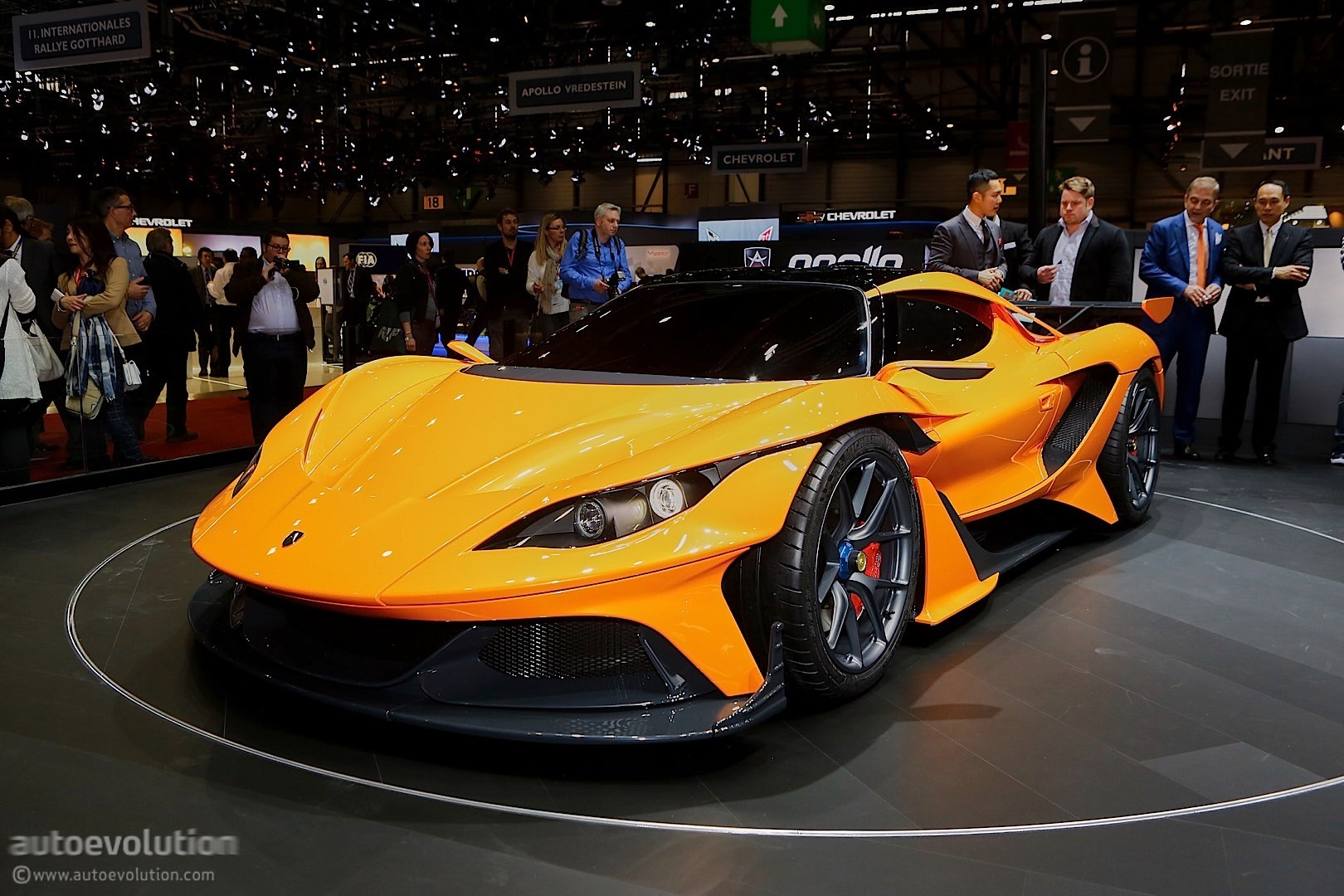Apollo Arrow Doesn T Seem Complete In Geneva Autoevolution
