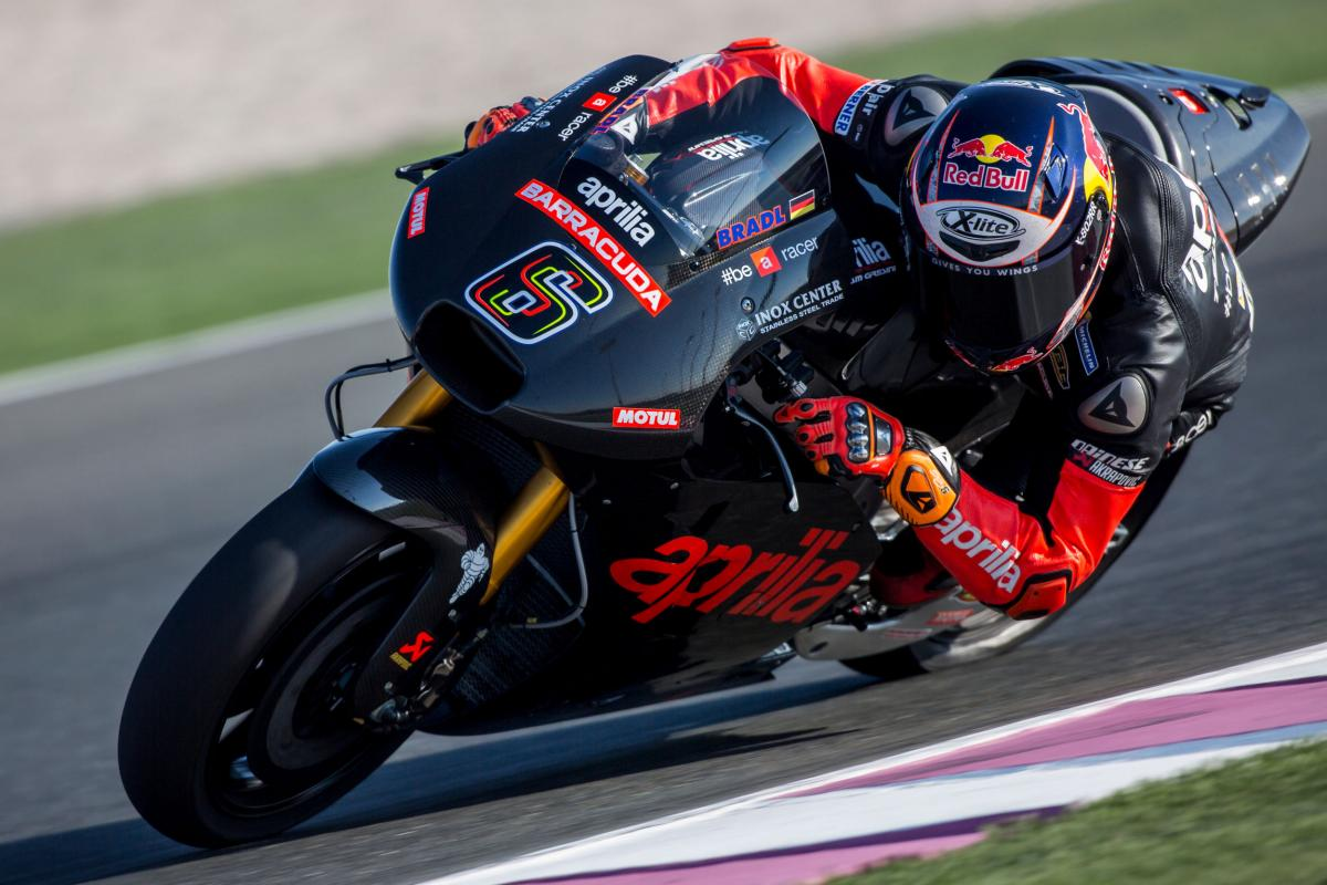 Aprilia Racing Team Gresini Reveals the All-New RS-GP Bike at Losail - autoevolution